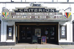 THE CRITERION THEATRE IN BAR HARBOR (fstopfinatic) Tags: pentaxkx pentax18135 signage neon period yesteryear old quaint movie dance show