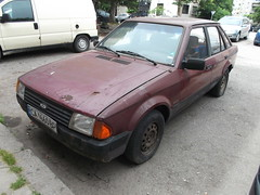 1986 Ford Escort (Alpus) Tags: bulgaria sofia rare cars retro june 2016