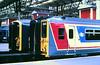 Slide 107-63 (Steve Guess) Tags: british rail nwse train station railway waterloo lambeth london england gb uk electric unit class455 455850