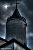 Tower (SR Photography 92) Tags: dächer turmuhr dunklewolken photomatrix düster dunkel thüringen germany deutschland turm burg tower srphotography