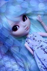Little Mermaid | Pullip Tiphona (·Kumo~Milk·^^) Tags: pullip tiphona mint rewigged wig rechipped eyechips eyelashes doll junplanning groove obitsu gloss