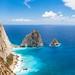 Keri cliffs in Zakynthos Zante island in Greece