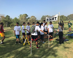 013 Loading The Starting Chutes (saschmitz_earthlink_net) Tags: 2017 california longbeach eldorado orienteering laoc losangelesorienteeringclub losangeles losangelescounty eldoradoeastregionalpark park parks