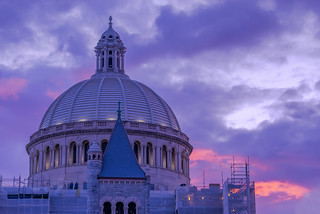 Christian Science Church Sunset