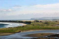 Empty beach in Co. Donegal (ronmcbride66) Tags: landscape coast beaches bay waves donegal ireland waverefraction dunes sanddunes magheraroarty magheraroartybeach headland hornhead