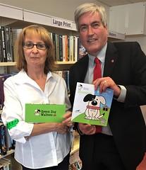 Backing East Lothian Green Dog Walkers scheme