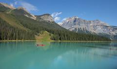 Canoeing on Emerald Lake. (Sveta Imnadze) Tags: emeraldlake yohonp canada bc canadianrockies