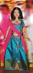 2006 FOTW Diwali Barbie (2) (Paul BarbieTemptation) Tags: 2006 dolls world pink label festival collection diwali india katiana jimenez