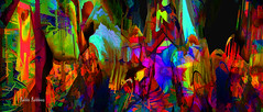My Mess Pano (brillianthues) Tags: pano abstract colorful collage photography photmanuplation photoshop