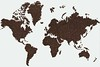 ground coffee in the shape of the continents (yourbestdigs) Tags: coffee caffeine drink beverage drinks beans ground grind grinds bags morning breakfast sip cup wake awake routine energy globe world continents comparison clean white background minimalist minimal joe buzzed buzz