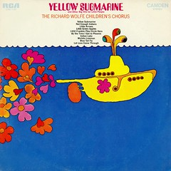 Yellow Submarine (grooveisintheart) Tags: lp record vinyl groovy mod graphicdesign vintage albumcover psychedelic 1969 type:face=amelia