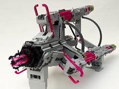 Emota Tridenti rearshot (thehaarie) Tags: lego space spaceship shiptember ship 2017