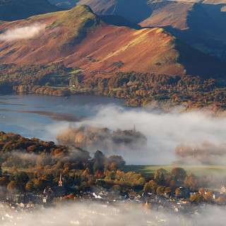 Catbells, Derwent Water and Keswick