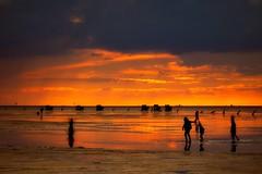 Sunset@Duhnen - Cuxland (mikehaui60) Tags: olympusomdem1 omd em1 mft duhnen cuxhaven cuxland lowersaxony germany sunset nordsee watt küste wattenpost goldenhour