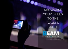 SHOWCASE YOUR SKILLS TO THE WORLDWITH (beamprotocol) Tags: beamprotocol beamnet fastinternet internet satelliteinternet
