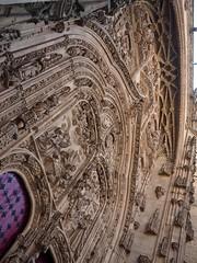 P9060387 (simonrwilkinson) Tags: salamanca castileandleón spain exterior gothic doorway portal west