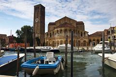 The Church (jaocana76) Tags: italia italy murano iglesia venecia travel viajes canales jaocana76 canon1635 canoneos7d plastico sillas chair silla reloj campanario