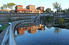 Queit Reflection (craigsanders429) Tags: kentohio cuyahogariver dam depots depot traindepots railroaddepots erierailroad reflectionphotographs reflectionphotography water railroadstations