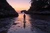 Contemplación (magomu) Tags: castro gaviotas hontoria playa mar sea beach amanecer sunrise reflection reflejo reflexe