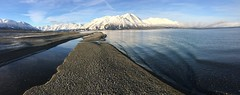 Kluane Lake (Fish as art) Tags: kluane kluanelake yukon outdoorphotography landscape paulvecseiphotography chumsalmon fisheries habitat canada canadianfishes winter water lake
