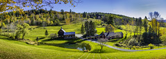 Woodstock Vermont October 21 2017 (Chad Straw Images) Tags: fall autumn foliage vermont woodstockvermont newengland travel traveling travelphotography panorama panoramic color discover earth amazing beautiful landscape landscapes landscapephotography nikon nikonphotography nikond610 america farm farmhouse country countryliving yankeemagazine wonderful wonderfulplaces