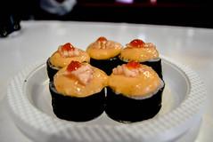 Sushi Boom (essam_moneks) Tags: sushi food foodphotography photography belajarphotography menu makanan hidoisushi kfi komunitasfotografiindonesia fotografi