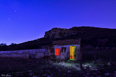 The night in colored houses (Peideluo) Tags: nightscape night landscape colors lightpainting nocturnas naturaleza noche campo paisaje paisajenocturno cielo
