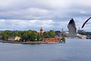 Seagulls Welcoming to Stockholm 20170805_084938 (silver_pearl.geo) Tags: balticcruise scandanavia stockholm stockholmharbourview stockholmsweden sweden vikingcruise