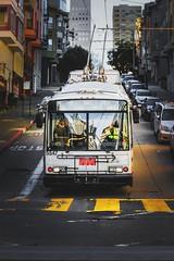 muni (djricciardi) Tags: oakland transit car bus bay muni sanfrancisco