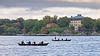 Rowing boats in the waters of Stockholm (Franz Airiman) Tags: ro row roddbåt rodd rowing rowingboat rowboat rorsman oarsman saltsjön stockholm sweden scandinavia båt boat djurgården prinseugenswaldemarsudde waldemarsudde