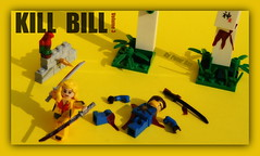 LEGO Kill Bill (peter-ray) Tags: peter ray mini figure lego kill bill katana ninja samurai movie tarantino samsung nx2000