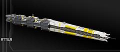 Attila (01) (F@bz) Tags: ship spaceship starship spacecraft shiptember space sf