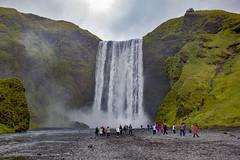 Skogafoss (Islandia) (U2iano) Tags: skogafoss islandia iceland cascada catarata waterfall agua paisaje landscape