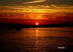 Sunrise (verridário) Tags: sky sony sunrise sun céu nuvens clouds mondego water sol