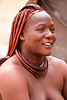 Namibia, Himba woman (Saleha Ullah) Tags: naturist dreadlocks okra natural woman namibia himba africa village tribe