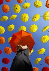 Under My Umbrella (CoolMcFlash) Tags: umbrella art person woman pov lowangleview perspective vienna canon eos 60d regenschirm many viele kunst frau perspektive wien fotografie photography sigma 1020mm 35