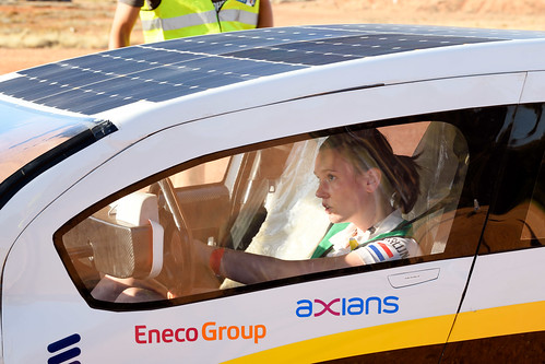 World Solar Challenge dag 4