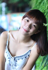 DP1U6576 by c0466art - It was a outdoor portrait activity , we invited the lovely university girl 芊聿 to the cultural zoon of 華山, she got pure and natural quality , without any make up , she looked sweet and lovely high school girl , cute and naughty feeling , thank 芊聿 , she did her best model job