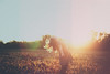 fire in her soul (wingardium leviosa.) Tags: girl self selfportrait 365 365project film vsco canon canon5dmarkiii 50mm 50mmf14 85mm 85mmf18 5d 5dmarkiii people outdoor hair sun sunlight autumn bokeh beautiful evening fall field gold