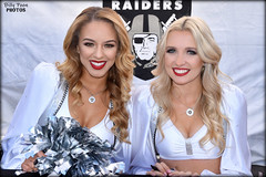 2017 Oakland Raiderettes Angel & Taylor (billypoonphotos) Tags: 2017 oakland raiders raiderettes raiderette raider nation raidernation nfl football fabulous females cheerleaders cheerleading dance dancer dancers nikon nikkor d5500 1685mm 1685 mm lens billypoon billypoonphotos silver black photo picture photographer photography pretty girls ladies women squad team people coliseum sport raiderville portrait taylor angel ravens