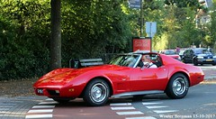 Chevrolet Corvette 1976 (XBXG) Tags: 67yb71 chevrolet corvette 1976 chevroletcorvette red rood rouge v8 coupé coupe chevy overveen nederland holland netherlands paysbas vintage old classic american car auto automobile voiture ancienne américaine us usa vehicle outdoor