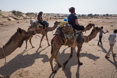 Rajasthan - Jaisalmer - Desert Safari with Camels-34