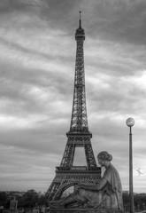 Paris B&W (Ruinenvogel) Tags: paris france eifelturm bw