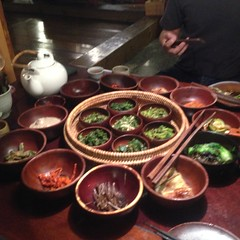 Korea - Insadong (Sanchon Restaurant)  115 (The Subcultured Traveler) Tags: iphonepics korea seoul insadong namdemeun dmz hongdae heyri sinchon travel asia backpacker subculturedtraveler