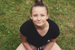 DOMINIKA (justyna.karkus) Tags: girl teen woman child nature portrait sister nikon 50mm family summer home motivation