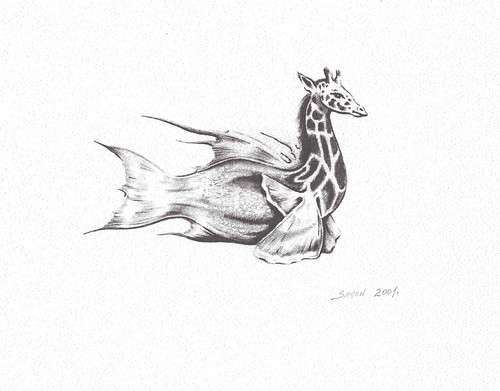 Giraffish-Pencil