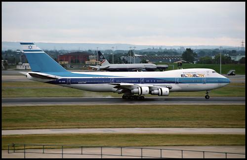 4X-AXD - London Heathrow (LHR) 27.07.1993