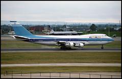 4X-AXD - London Heathrow (LHR) 27.07.1993 (Jakob_DK) Tags: 1993 boeing boeing747 747 b747 747200 jumbo jumbojet 747200b lhr egll heathrow londonheathrow ely elal elalisraeliairlines