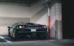 Verde Hydra. (Alex Penfold) Tags: lamborghini diablo vt 60 6 litre verde hydra green dark supercars supercar super car cars autos alex penfold 2017 carweek monterey classic