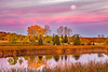 Morning Glory #380 (DBruner240) Tags: geese fall foliage colors moon harvest nd north dakota turtle river state park reflections waterfowl sunrise ngc national geographic explore